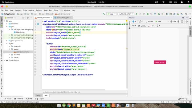 Membuat Project Pertama Android